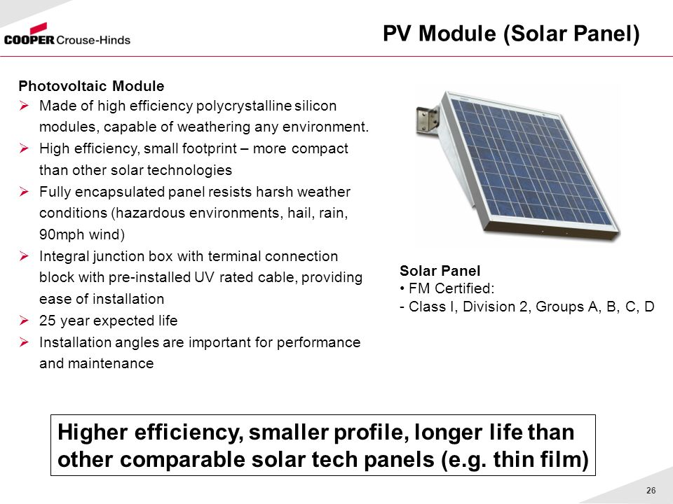 PV Module (Solar Panel)