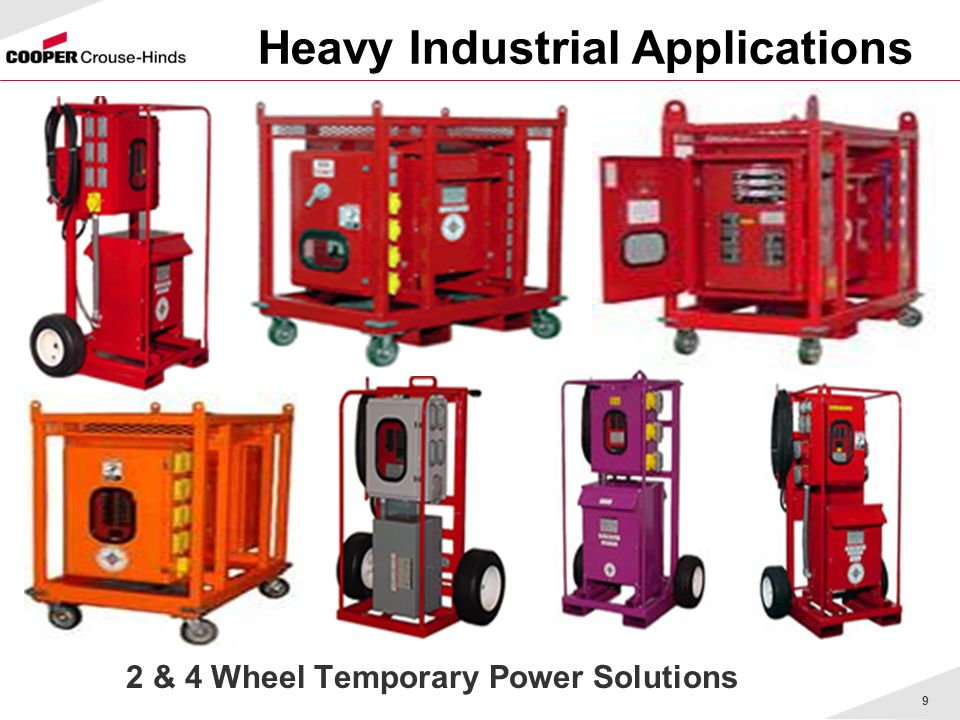 Heavy Industrial Applications