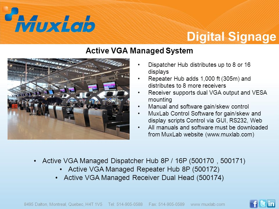 Active VGA Managed System