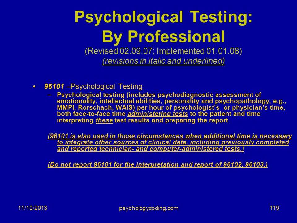 Psychological Testing: By Professional (Revised