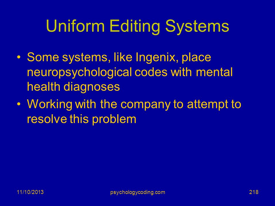 Uniform Editing Systems