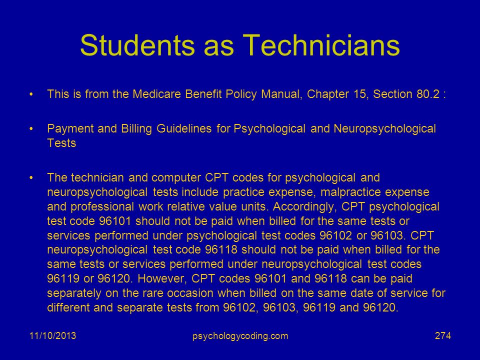 Students as Technicians