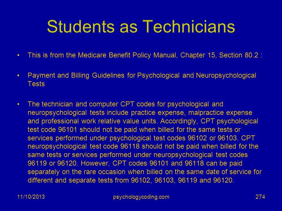 Students as Technicians