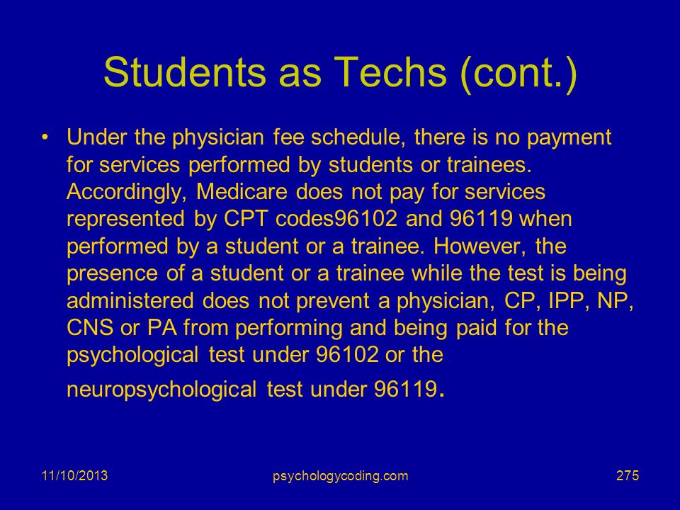 Students as Techs (cont.)