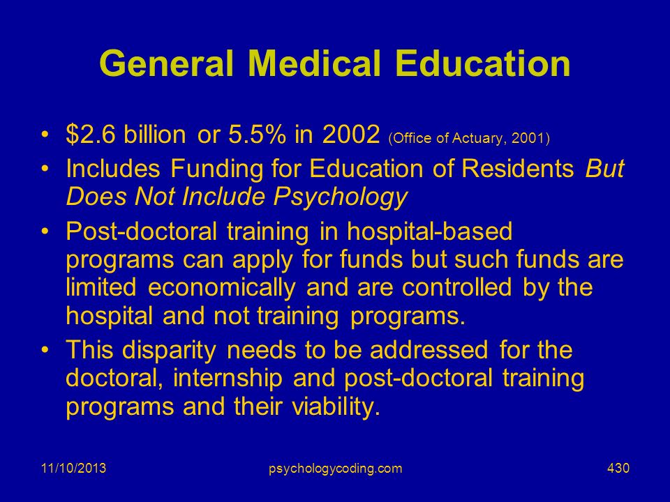 General Medical Education