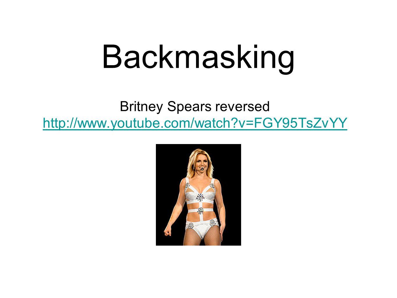Britney Spears reversed