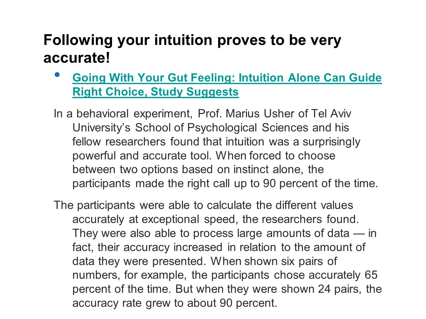 Following your intuition proves to be very accurate!