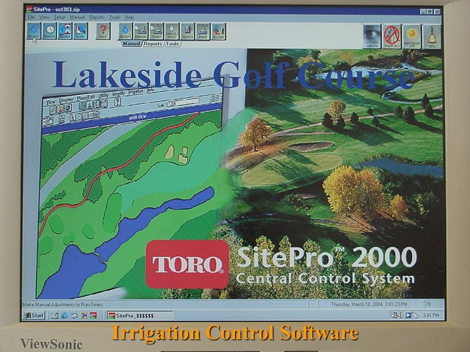 Irrigation Control Software