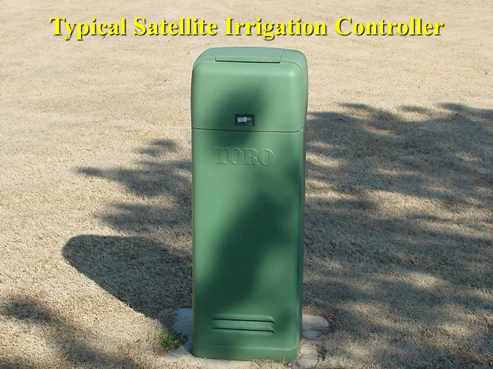 Typical Satellite Irrigation Controller