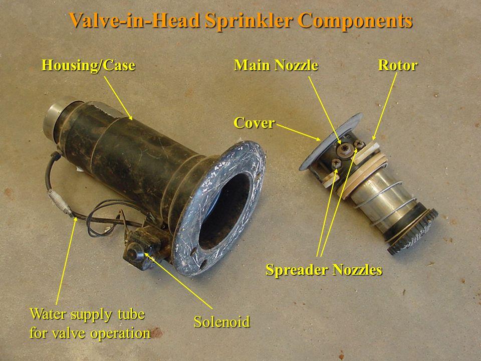 Valve-in-Head Sprinkler Components