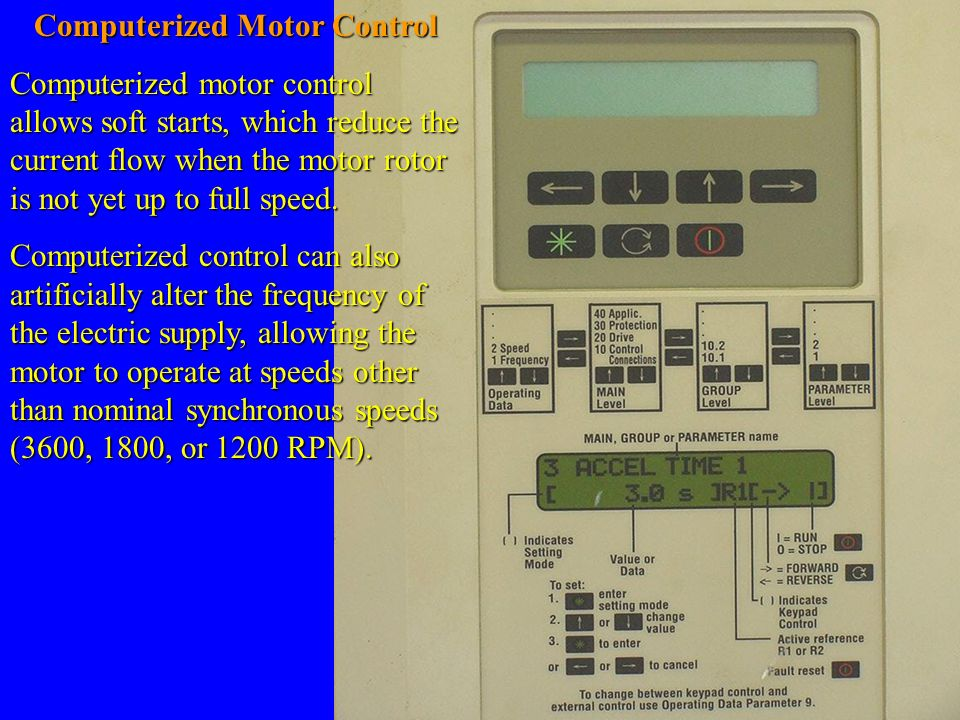Computerized Motor Control