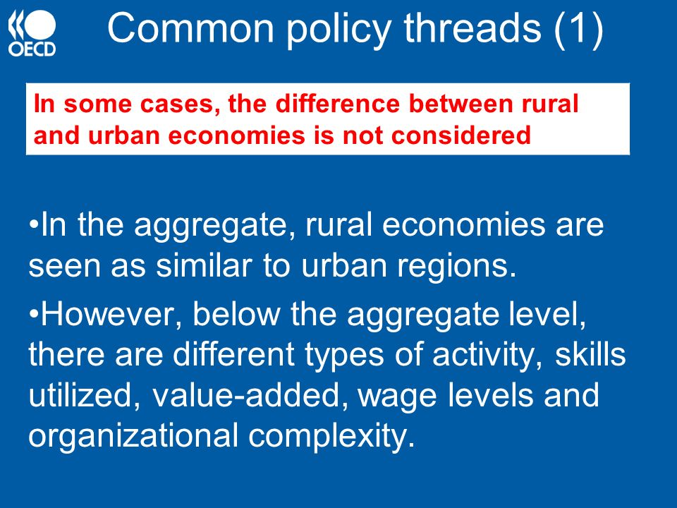 Common policy threads (1)