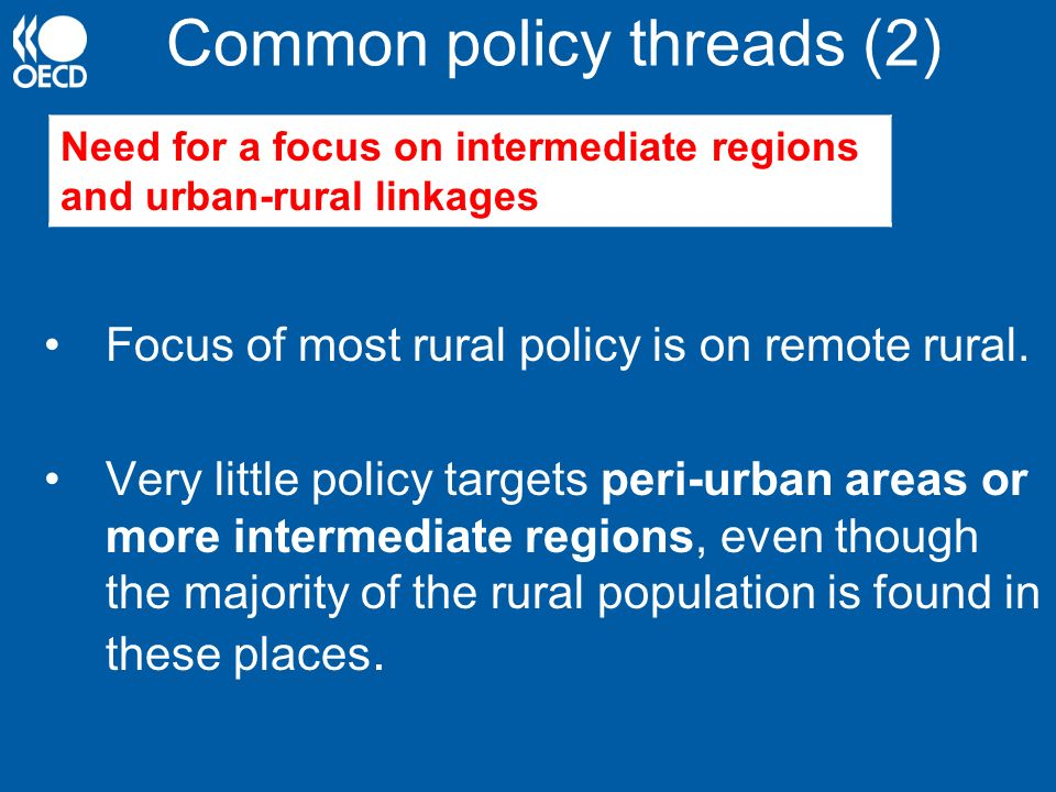 Common policy threads (2)