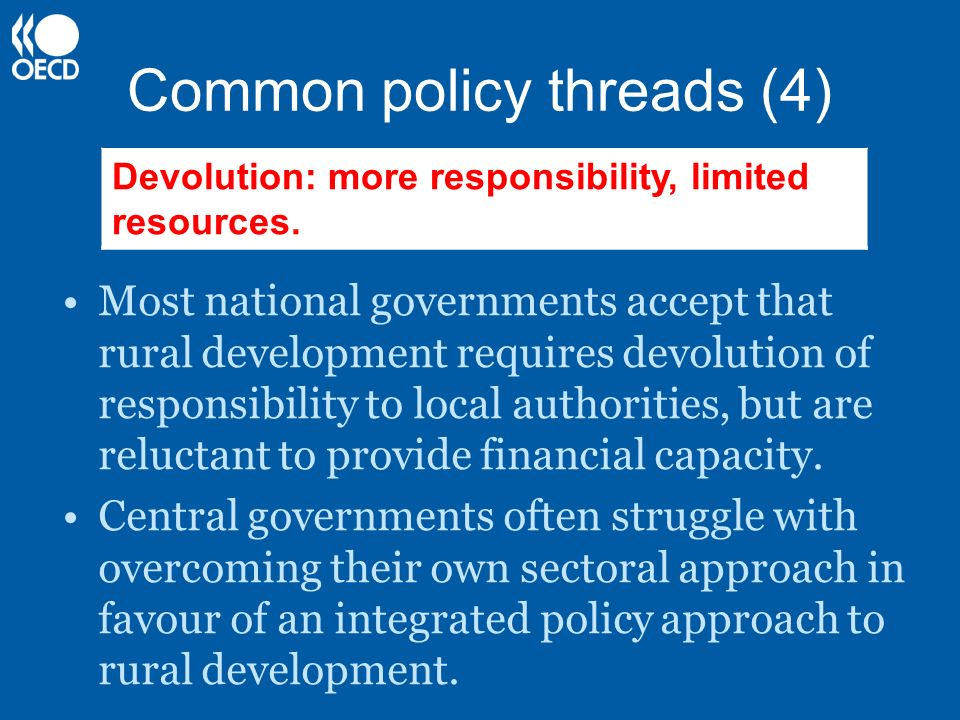Common policy threads (4)