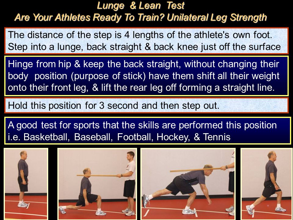 Are Your Athletes Ready To Train Unilateral Leg Strength