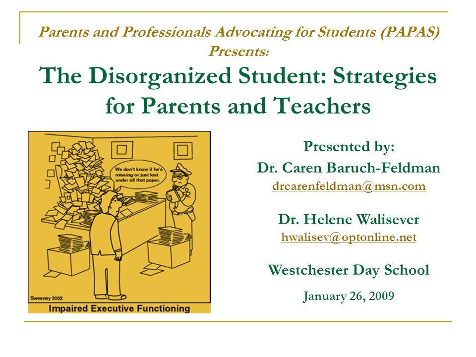 Dr. Caren Baruch-Feldman Westchester Day School
