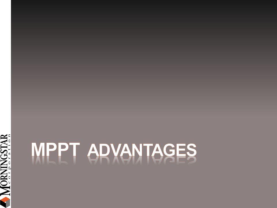 MPPT Advantages