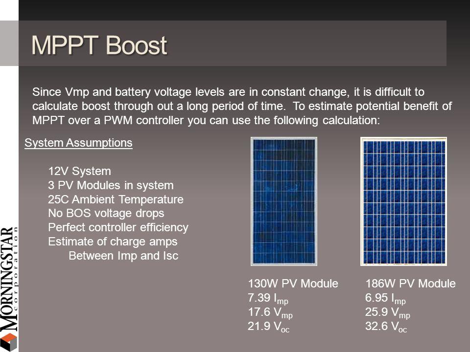 MPPT Boost