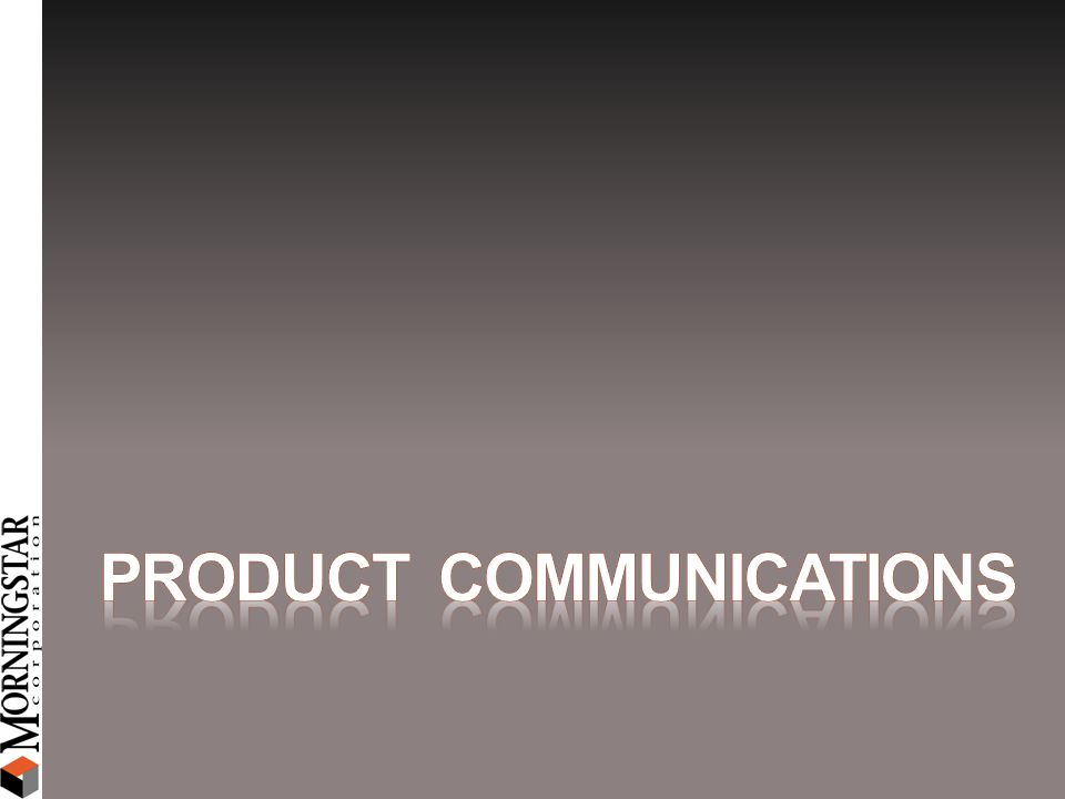 Product Communications