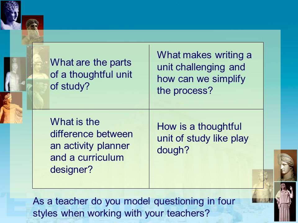 What makes writing a unit challenging and how can we simplify the process