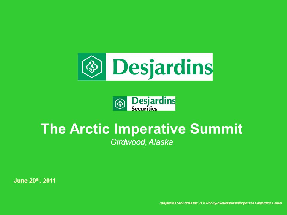 The Arctic Imperative Summit