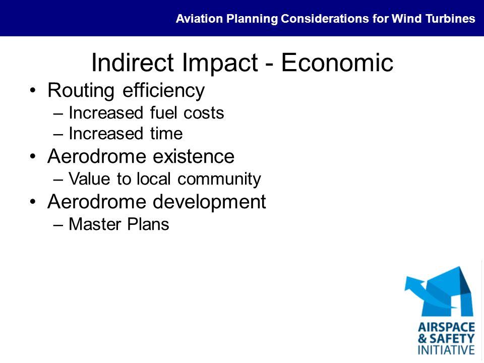Indirect Impact - Economic