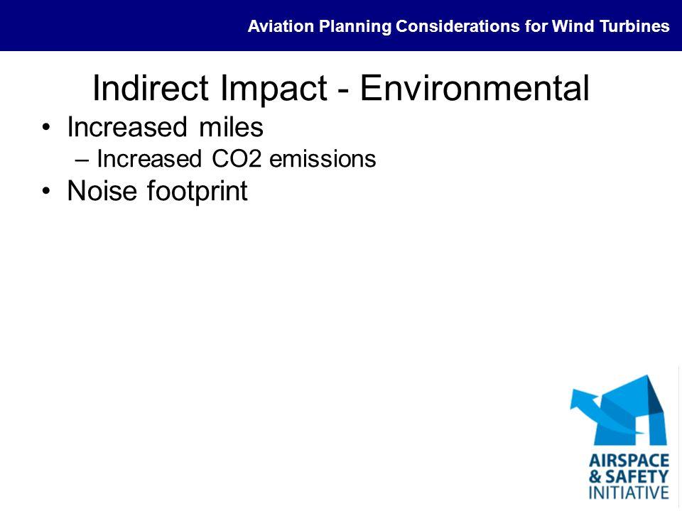Indirect Impact - Environmental