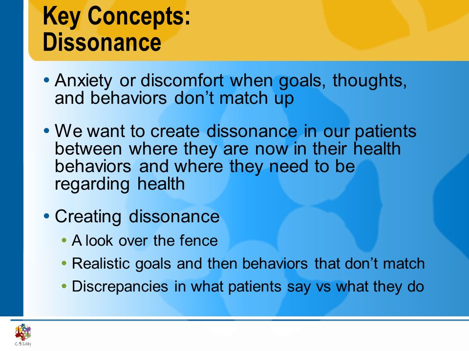 Key Concepts: Dissonance