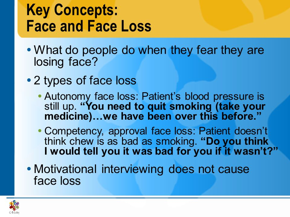 Key Concepts: Face and Face Loss