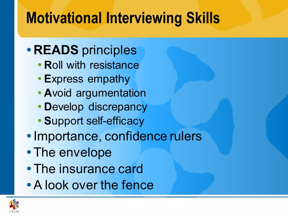Motivational Interviewing Skills