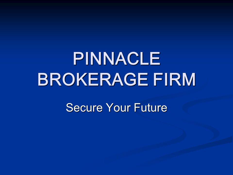 PINNACLE BROKERAGE FIRM