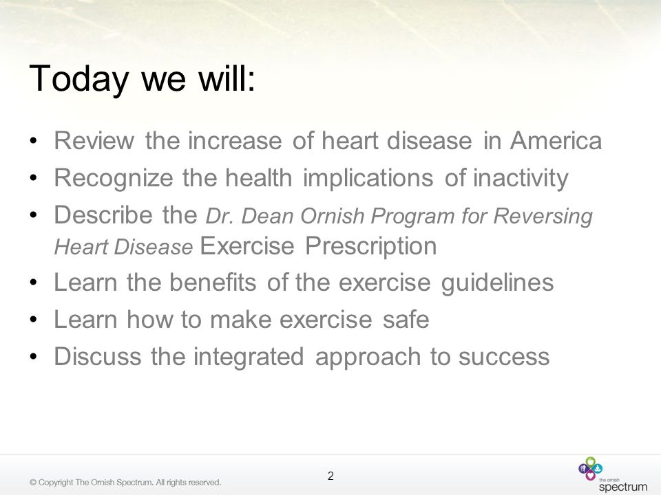 Today we will: Review the increase of heart disease in America