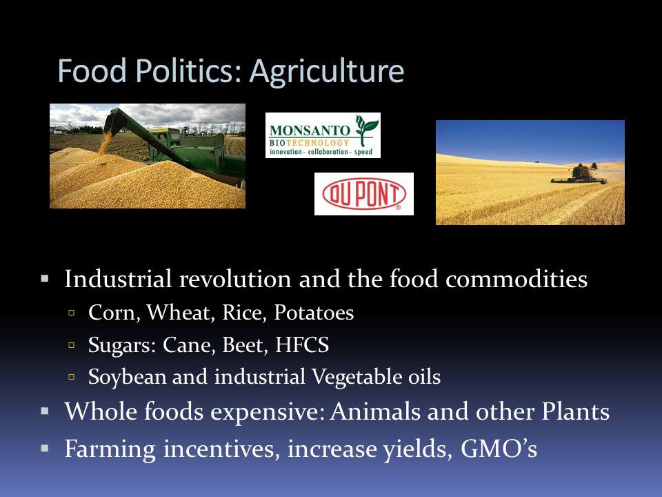 Food Politics: Agriculture