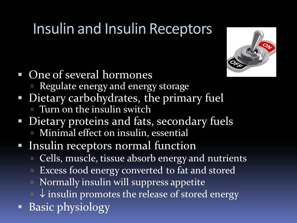 Insulin and Insulin Receptors