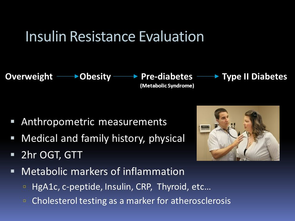 Insulin Resistance Evaluation