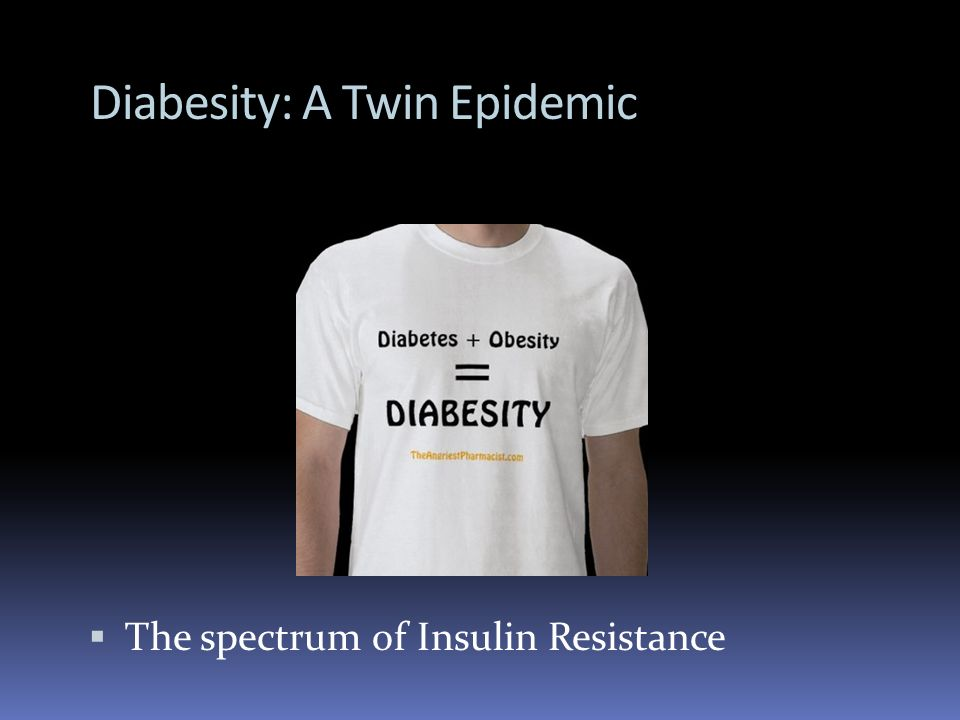 Diabesity: A Twin Epidemic