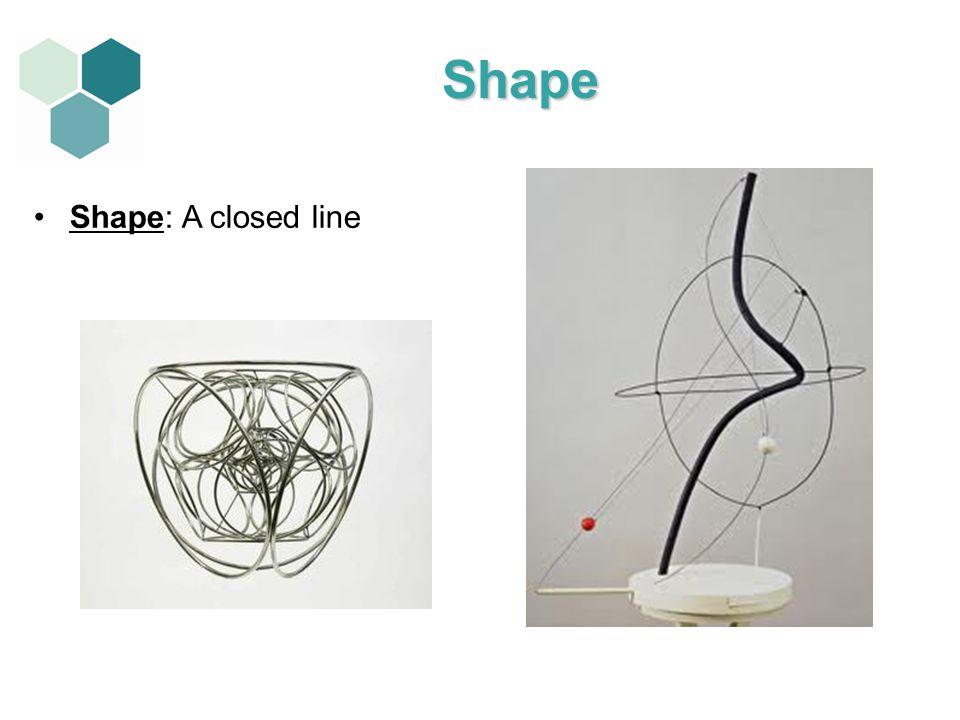 Shape Shape: A closed line