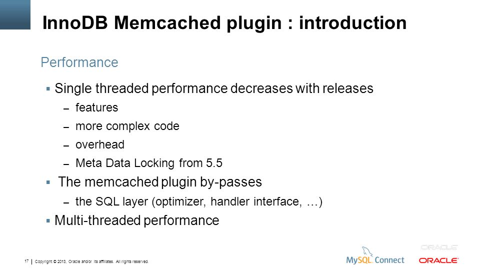InnoDB Memcached plugin : introduction