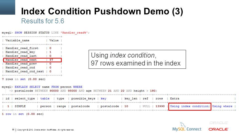 Index Condition Pushdown Demo (3)