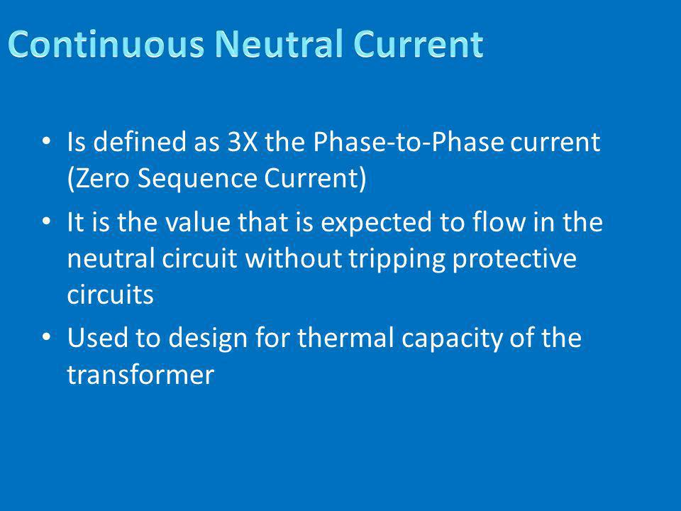 Continuous Neutral Current
