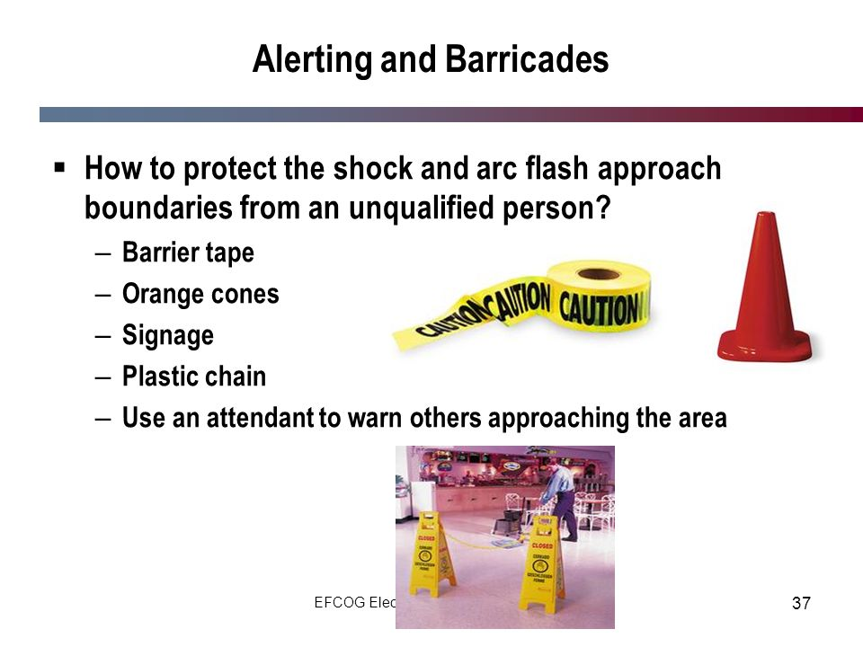 Alerting and Barricades
