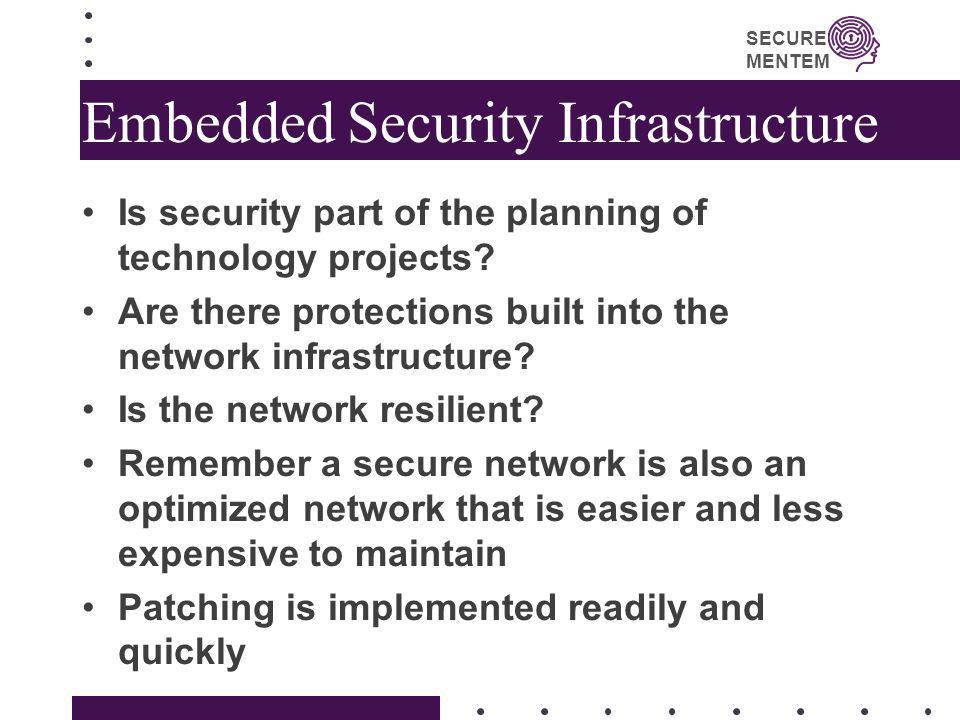 Embedded Security Infrastructure