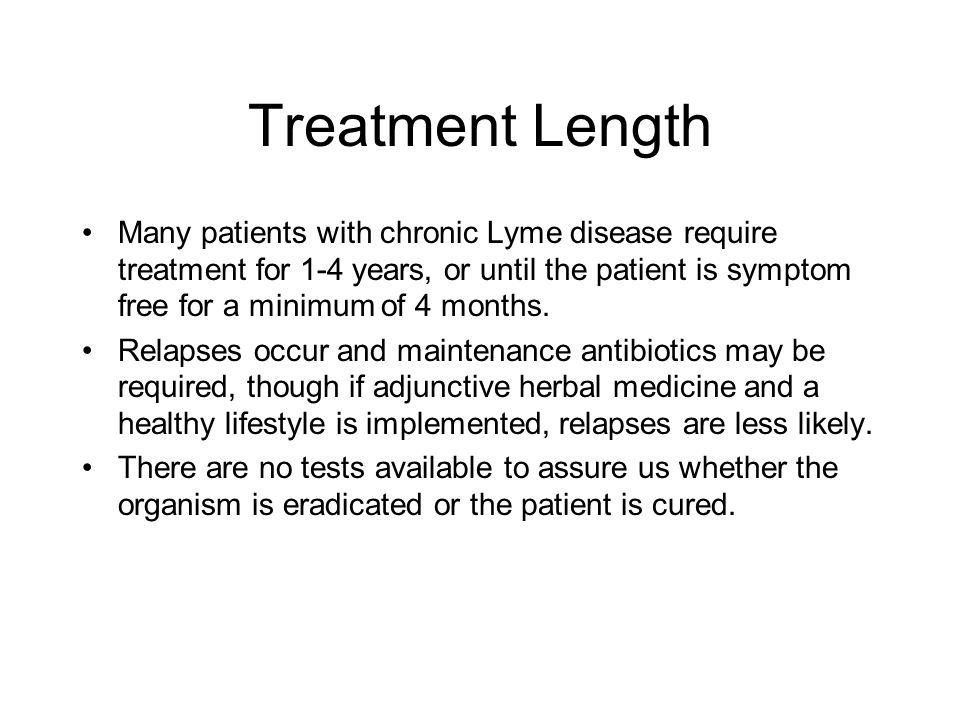 Treatment Length