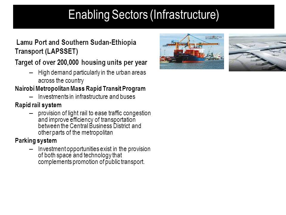 Enabling Sectors (Infrastructure)