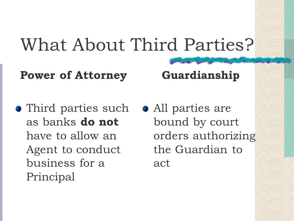 What About Third Parties