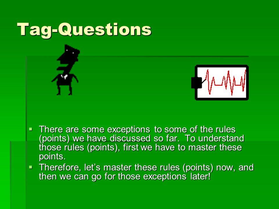Tag-Questions