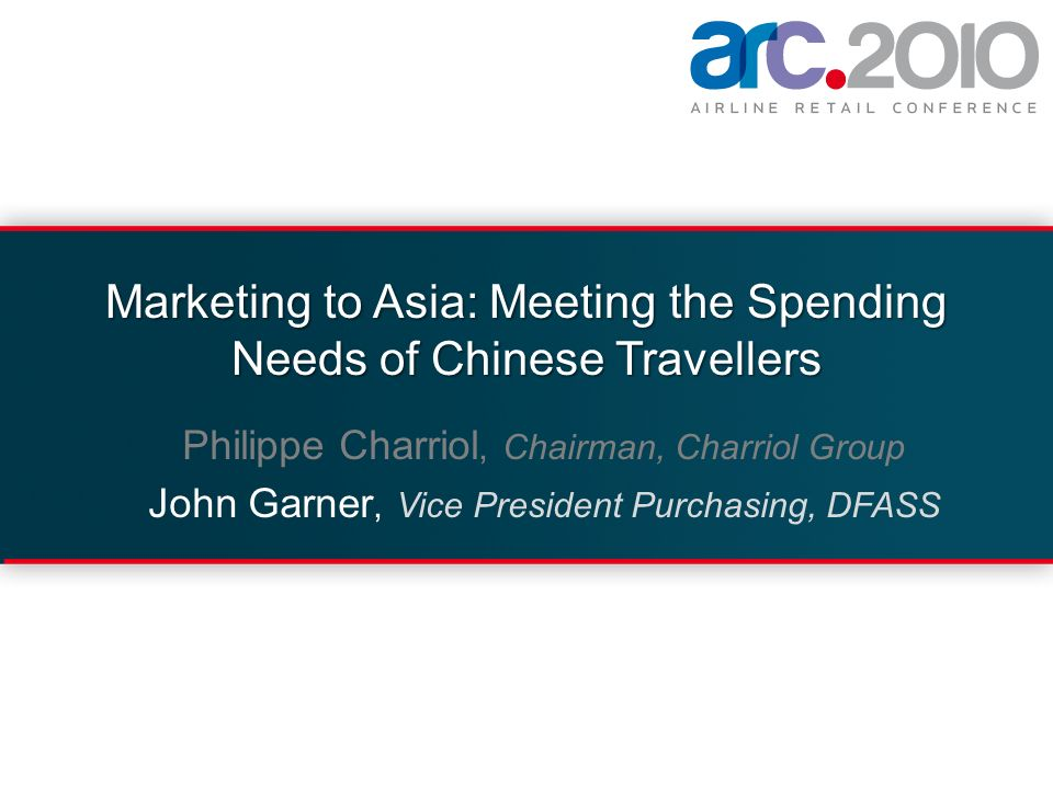 Marketing to Asia: Meeting the Spending Needs of Chinese Travellers