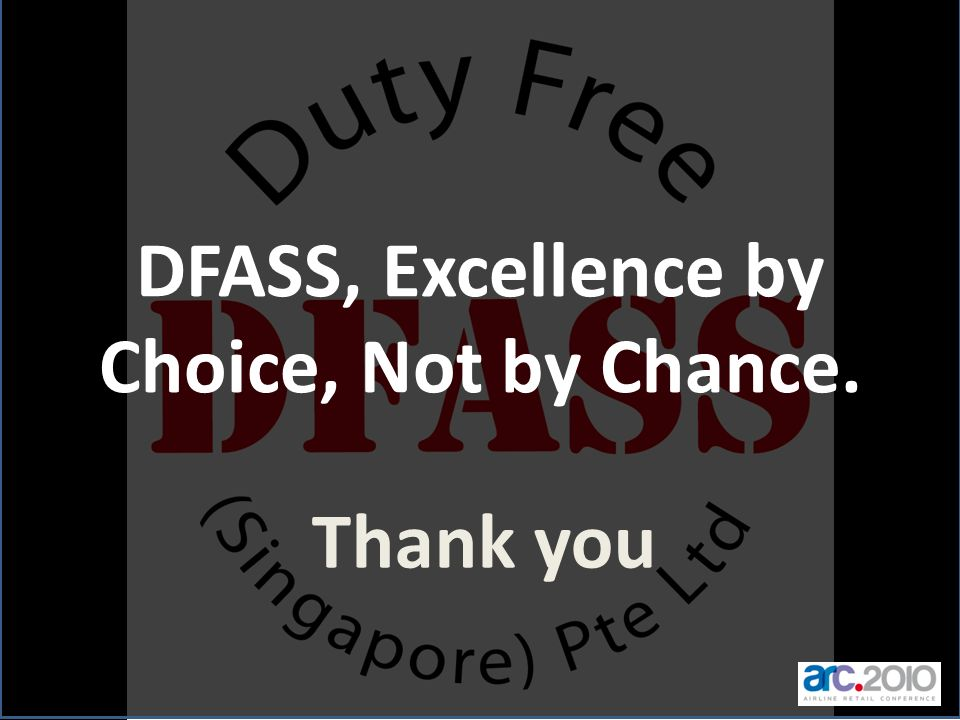 DFASS, Excellence by Choice, Not by Chance.