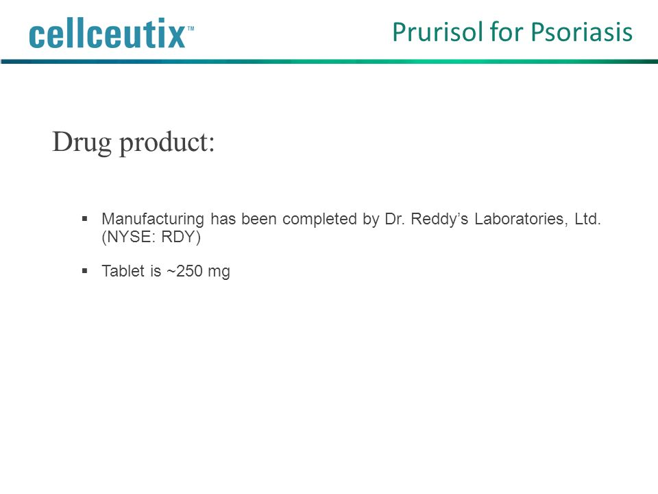 Prurisol for Psoriasis