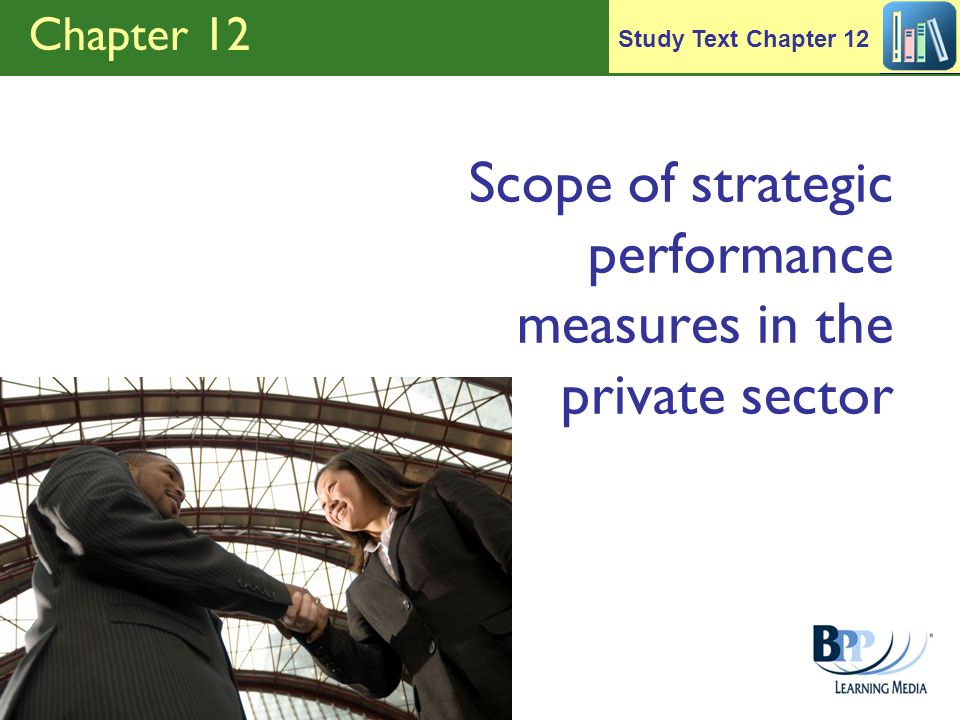 Scope of strategic performance measures in the private sector